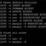 iptables rules script