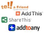 Social Bookmarking Service Logos